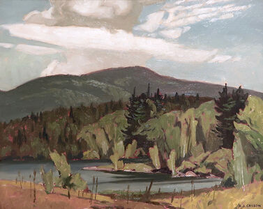 Alfred Joseph Casson, 'On the Madawaska - Below Palmer Rapids', ca. 1960