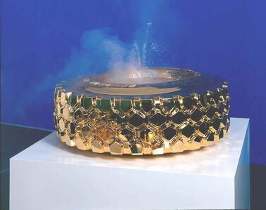 Sylvie Fleury, '(Gold) Fountain LKW', 2003
