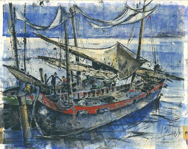 Hans Trillitzsch, 'Bei Venedig / In Venice', 1963