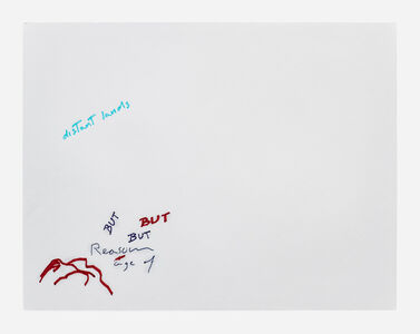 Simone Forti, 'News Animation Drawing - Distant Lands', 2012
