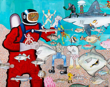 Motohiro Hayakawa, 'Diver', 2008