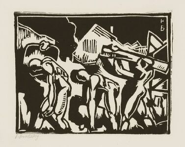 Horace Ascher Brodzky, 'Twelve Linocuts', 1989