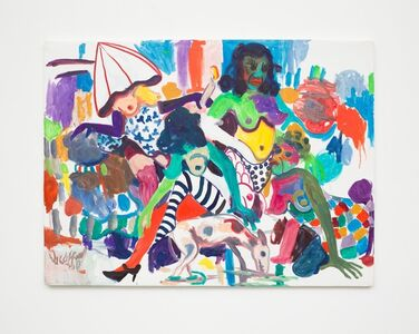 Wycliffe Mundopa, 'One Thousand Afternoons, Part 2', 2017