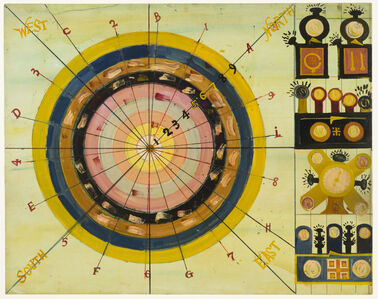 Peter Attie Besharo, 'Untitled (Target 1–9)', ca. 1950
