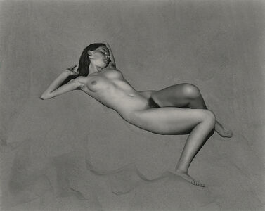 Edward Weston, 'Nude (Charis on Dunes), Oceano', 1936-printed 2000 by Cole Weston