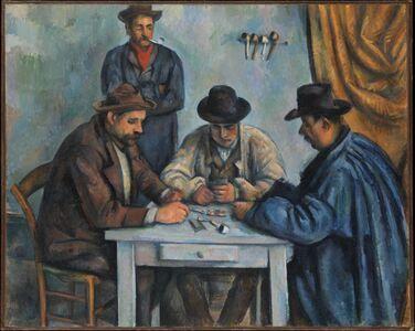 Paul Cézanne, 'The Card Players', 1890–1892
