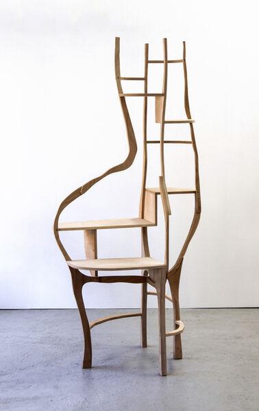 """Jacques Jarrige, 'Desk table / Shelving unit by Jacques Jarrige """" La Secretaire""""', 2012"""