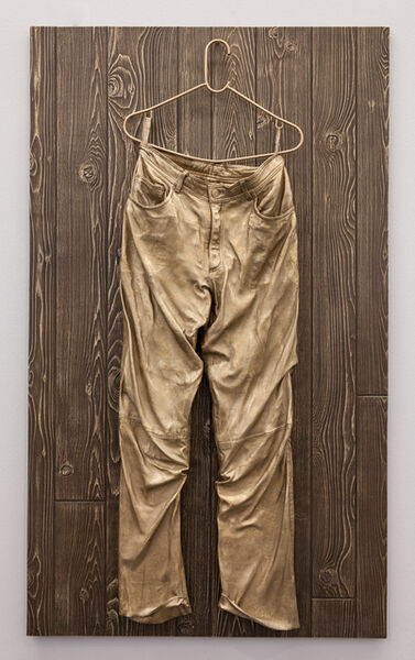 Mickalene Thomas, 'Untitled (Leather Pants)', 2014