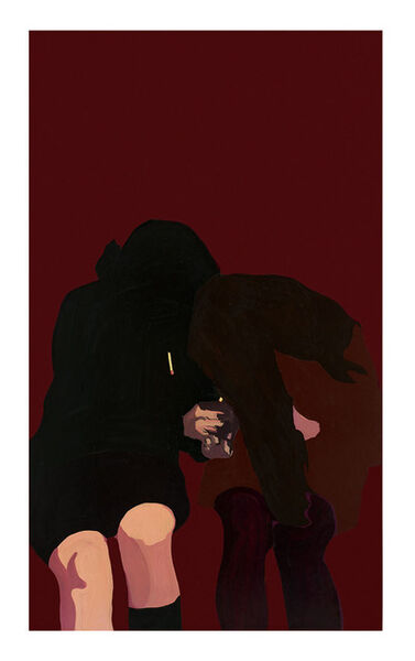 Rosalyn Drexler, 'Terry Gets a Light', 1967