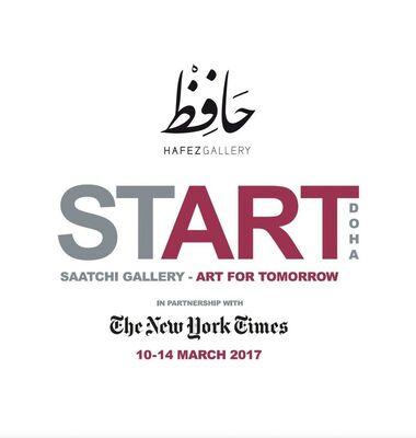 START Doha Art Fair 2017, installation view