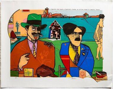 Richard Merkin, 'These Foolish Things Remind Me of You Pop Art Color Screenprint Richard Merkin', Late 20th Century
