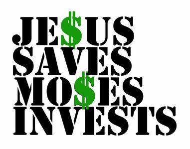 Alexander Kosolapov, 'Jesus saves, Moses invests', 2010