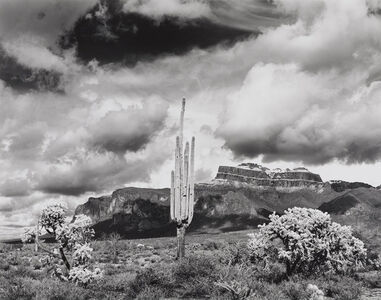 Jody Forster, 'Winter Storm Clearing, Superstition Mountains, Arizona', 1978