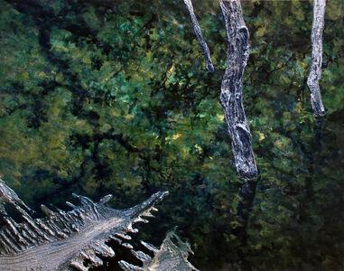 John J. Bedoya, 'Tierra y acrilico 42', 2012