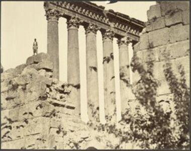 Félix Bonfils, '[Temple of the Sun (Baalbec, Lebanon)]', 1870