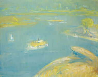 Lloyd Rees, 'The Morning Ferry', 1981