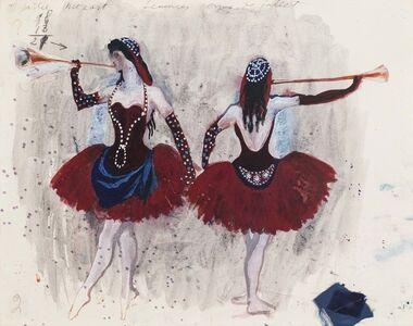 Pavel Tchelitchew, 'Costume Design for Concerto: Femmes Corps de Ballet', ca. 1942
