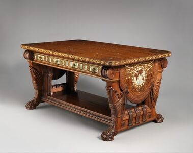 Herter Brothers, 'Library Table', 1879–1882
