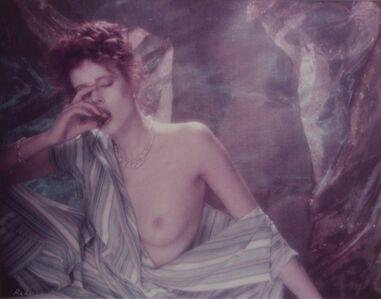 Rebecca Blake, 'Nude Woman Sucking on Cigar or Pepper'