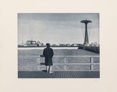 Max Ferguson, 'Coney Island - Self-Portrait'