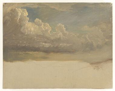 Frederic Edwin Church, 'Cloud Study', 1871