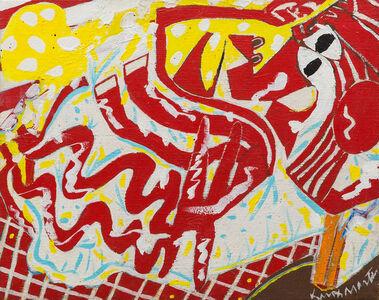 Knox Martin, 'Red Woman', 1975