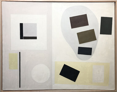 Alice Trumbull Mason, 'Trinity #6 (With Biomorphic Shadow)', 1968