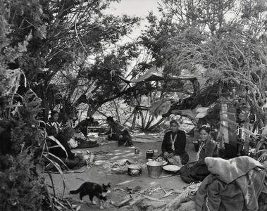 Laura Gilpin, 'A Navaho Summer Hogan', 1950