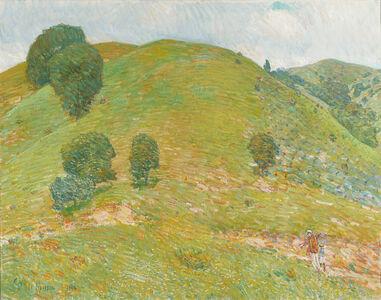 Childe Hassam, 'California Hills in Spring (The Little Vineyard)', 1914