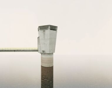 Edgar Martins, 'Caldeirao Dam, water intake tower for hydraulic circuit', 2011