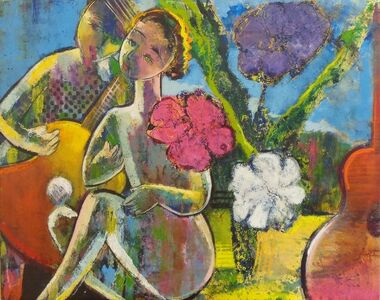 Helen Zarin, 'Love Song', 2017