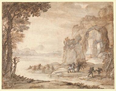 Claude Lorrain, 'Perseus and the Origin of Coral', ca. 1671