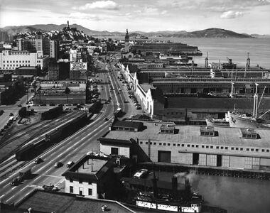Max Yavno, 'Untitled (San Francisco Waterfront)', Circa 1948