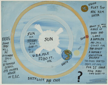 Peter Attie Besharo, 'Untitled (Simple Astronomy)', ca. 1950