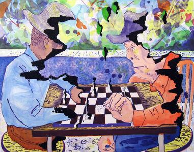 Dana Schutz, 'Chess', 2008