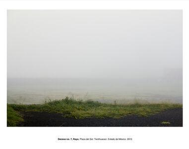 """Humberto Ríos, 'Deceso no. 7, Rayo, Plaza del Sol. Teotihuacán, Estado de México (from the series """"Forensic Documents"""")', 2013"""