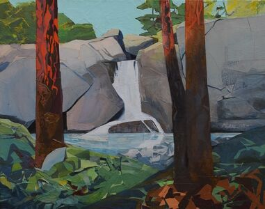 Mariella Bisson, 'Sunlight, Late Afternoon, Waterfall', 2019