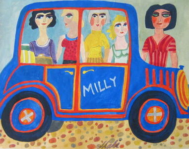 Hajo Malek, 'Milly (and her girlfriends)', 20th Century