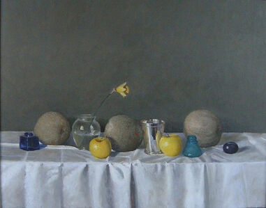 Eric Forstmann, 'Still Life with Silver Cup and Melons', 2001