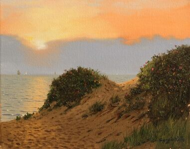 Sergio Roffo, 'Sunrise on the Dunes, Nantucket', 2019