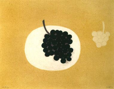 William Scott (1913-1989), 'Grapes', 1979