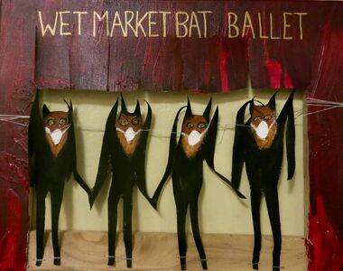 Susan Spangenberg, 'Wet Market Bat Ballet', 2020