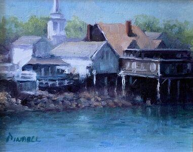Pamela Pindell, 'Rockport Harbor', 2020