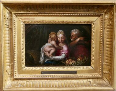 """Frans Francken the Younger, '""""Holy Family""""', 1616"""