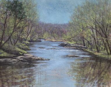 Patricia Skinner, 'Spring on the Rappahannock', 2020