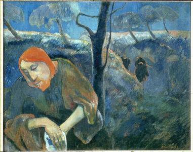 Paul Gauguin, 'Christ in the Garden of Olives', 1889