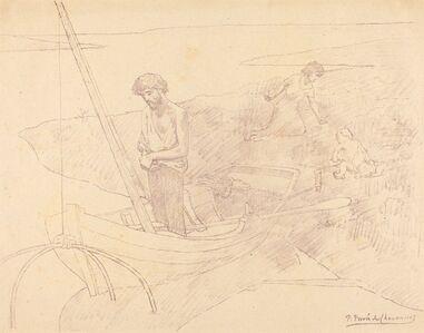 Pierre Puvis de Chavannes, 'The Poor Fisher (Le pauvre pecheur)'