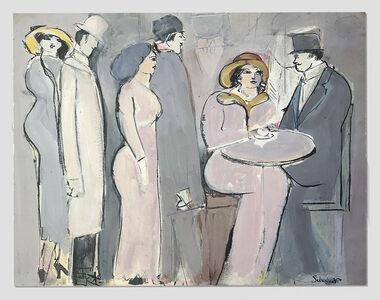 David Schneuer, 'Cafe', ca. 1980