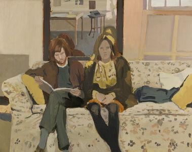 Fairfield Porter, 'Double Portrait', 1968