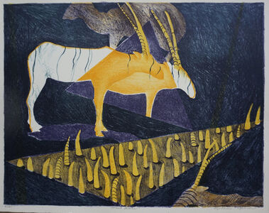 Stephanie Copoulos-Selle, 'Horned Beasts', 1996